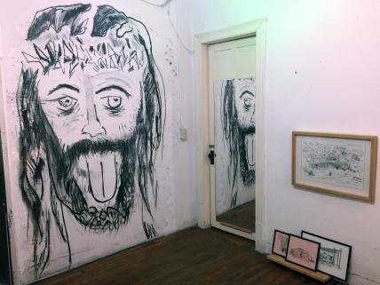 """Jorge Juan Moyano´s """"La persistencia del rito"""" and Alejandro Osorio´s artwork"""
